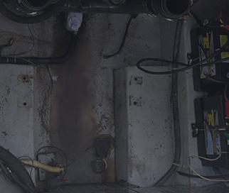 Intérieur de bateau